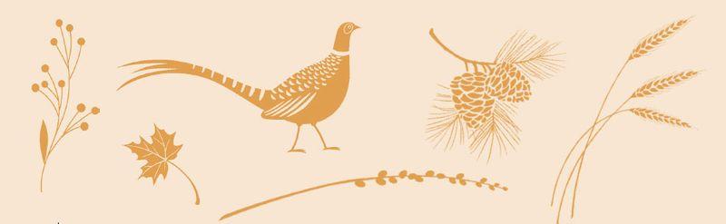Autumn Days stamp set